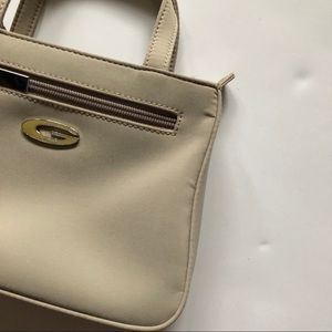 Guess Mini cream hand purse